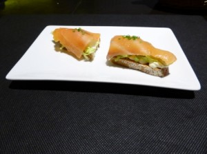 canape de salmon